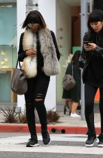 KELLY ROWLAND Out and About in Beverly Hills 12/21/2016
