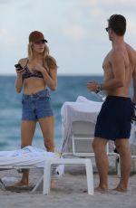 KELLY THOMAS in Bikini at a Beach in Miami 12/21/2016