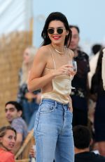 KENDALL JENNER at the Beach in Miami 12/04/2016