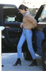 KENDALL JENNER in Jeans Out and About in Beverly Hills 12/28/2016