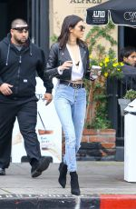 KENDALL JENNER in Jeans Out and About in Los Angeles 12/15/2016