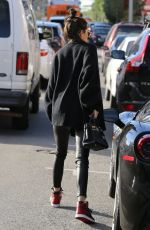 KENDALL JENNER Out for Lunch in West Hollywood 12/22/2016