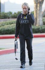 KENDRA WILKINSON Leaves a Gym in Los Angeles 12/17/2016