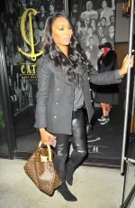 KENYA MOORE at Catch LA in West Hollywood 12/16/2016