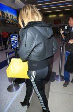 KHLOE KARDASHIAN at Los Angeles International Airport 12/07/2016