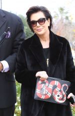 KRIS JENNER Out and About in Calabasas 12/21/2016