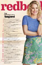 KRISTEN BELL for Redbook Magazine, August 2016
