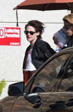 KRISTEN STEWART and STELLA MAXWELL Out Shopping in Los Angeles 12/27/2016