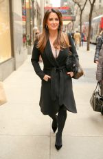 KYLE RICHARDS Out in New York 12/06/2016