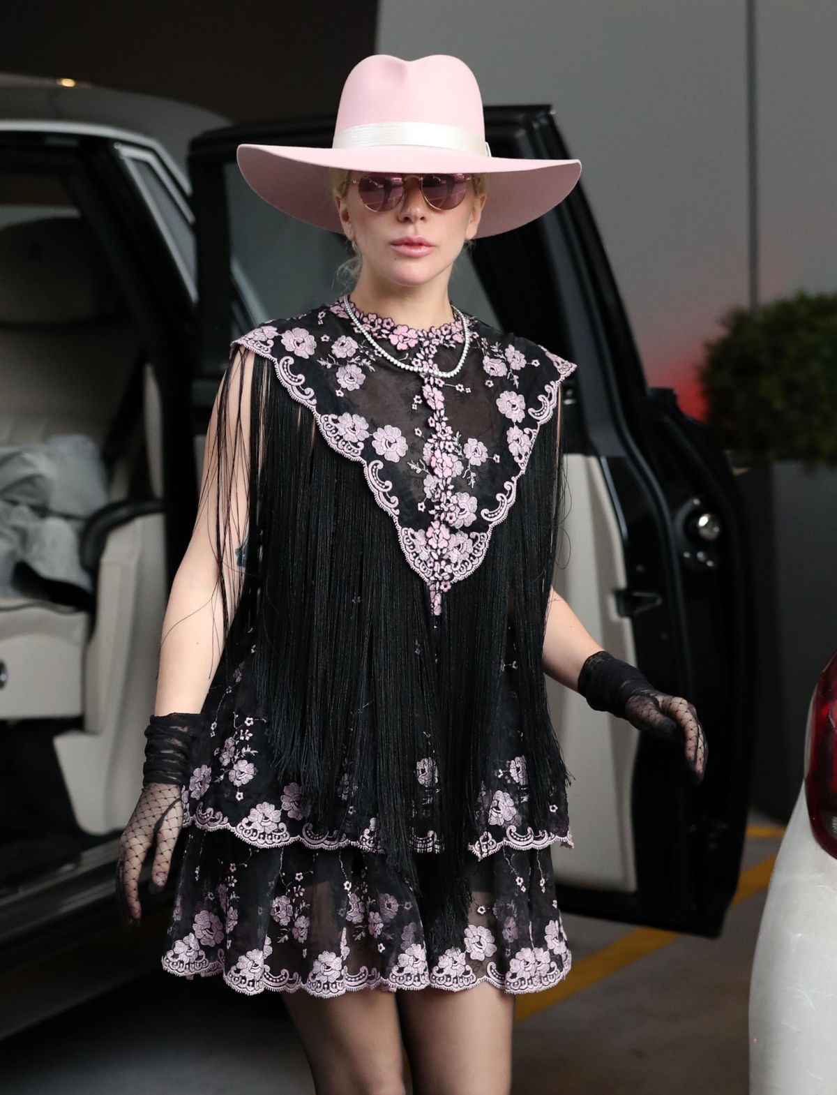 LADY GAGA Out and About in London 12/05/2016