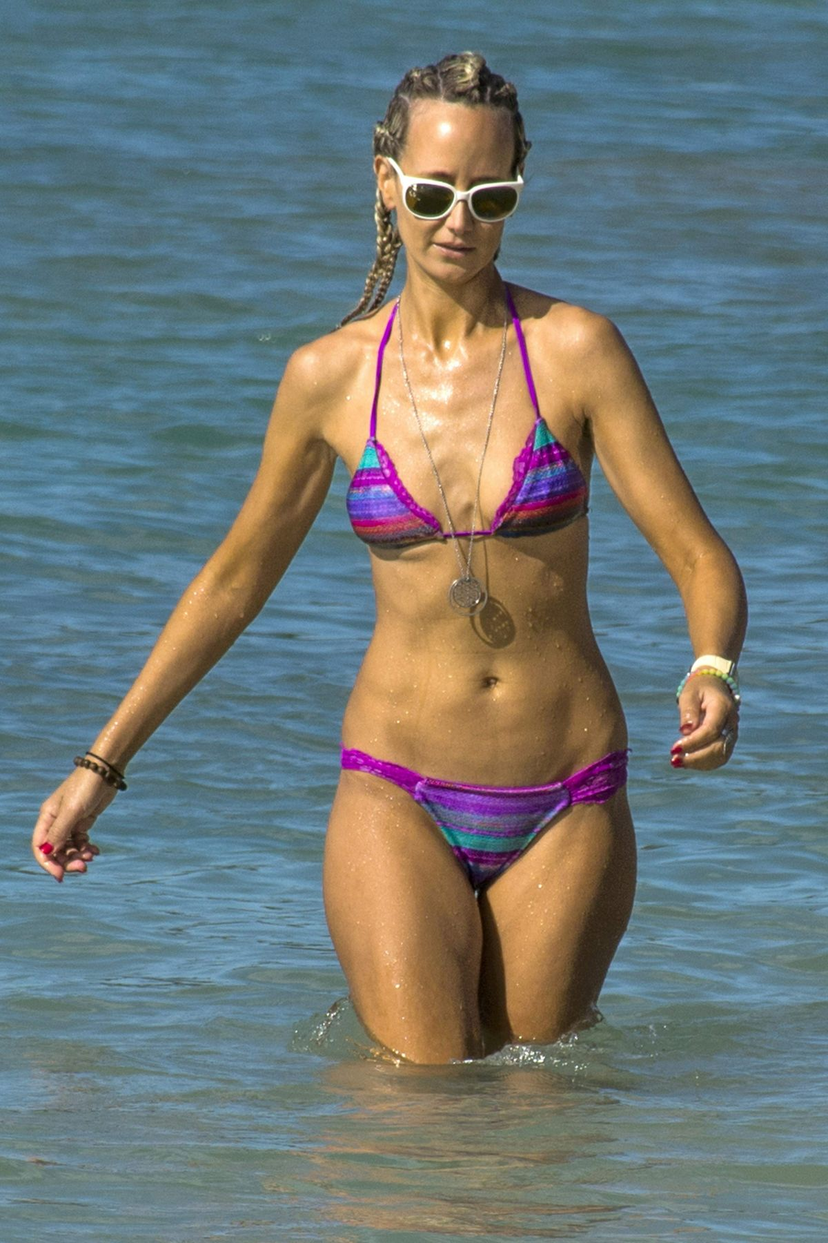 LADY VICTORIA HERVEY in Bikini on the Beach in Barbados 12/26/2016