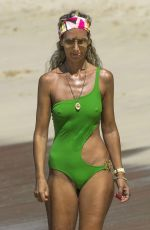 LADY VICTORIA HERVEY in Swimsuit on the Beach in Barbados 12/30/2016