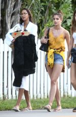 LAIS RIBEIRO, JOSEPHINE SKRIVER and TAYLOR MARIE HILL Leaves Victoria