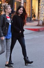 LANA DEL REY Out Shopping in Beverly Hills 12/12/2016