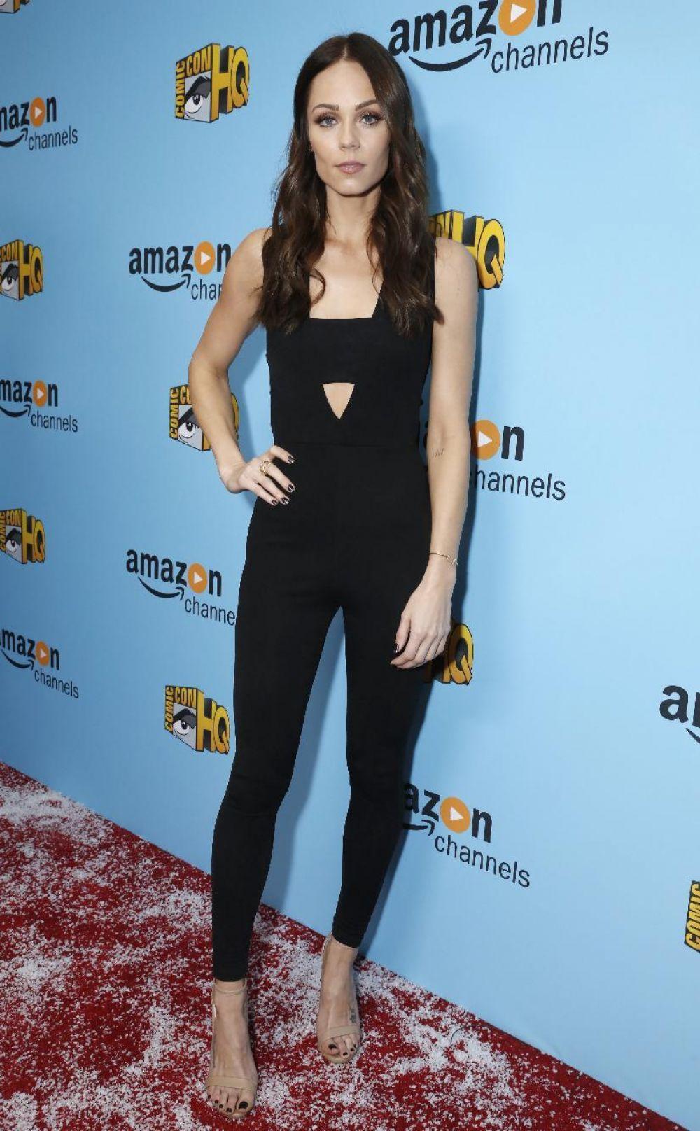 LAURA VANDERVOORT at Con Man Season 2 Premiere in Beverly Hills 12/06/2016