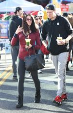 LAUREN SANCHEZ Out Shopping with Her Boyfriend in Los Angeles 12/18/2016