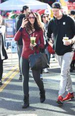 LAUREN SANCHEZ Out Shopping with Her Boyfriend in Los Angeles 12/18/2016