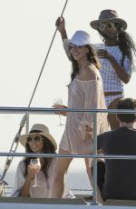 LAUREN SILVERMAN at a Boat in Barbados 12/18/2016
