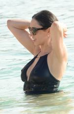 LAUREN SILVERMAN in Swimsuit in Barbados 12/17/2016