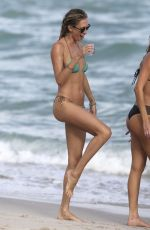 LAUREN STONER in Bikini on the Beach in Miami 12/17/2016