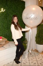 LEA MICHELE at Aerie Popup Shop in New York 12/15/2016