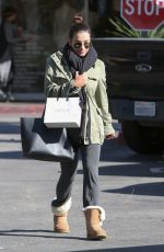 LEA MICHELE Out Shopping in Bel Air 12/02/2016