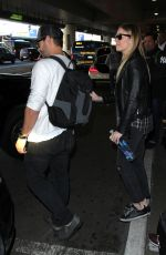 LEANN RIMES at LAX Airport in Los Angeles 12/19/2016