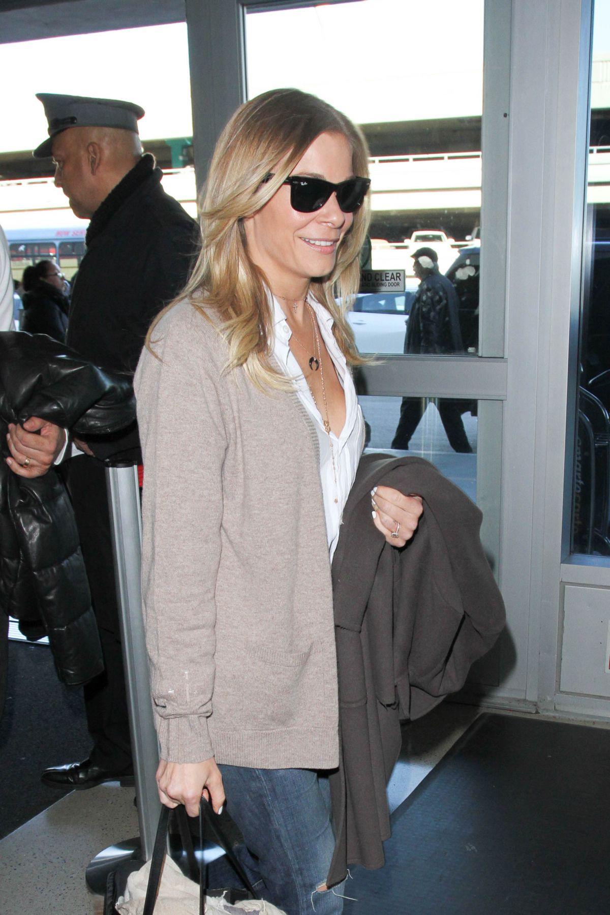 LEANN RIMES at LAX Airport in Los Angeles 12/28/2016