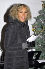 LEONA LEWIS at Hopefield Animal Sanctuary in Brentwood 12/18/2016