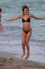 LEXI WOOD in Bikini on the Set of a Photoshoot in Miami 12/09/2016