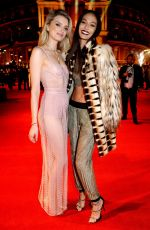 LILY DONALDSON and JOAN SMALLS at Fashion Awards in London 12/05/2016