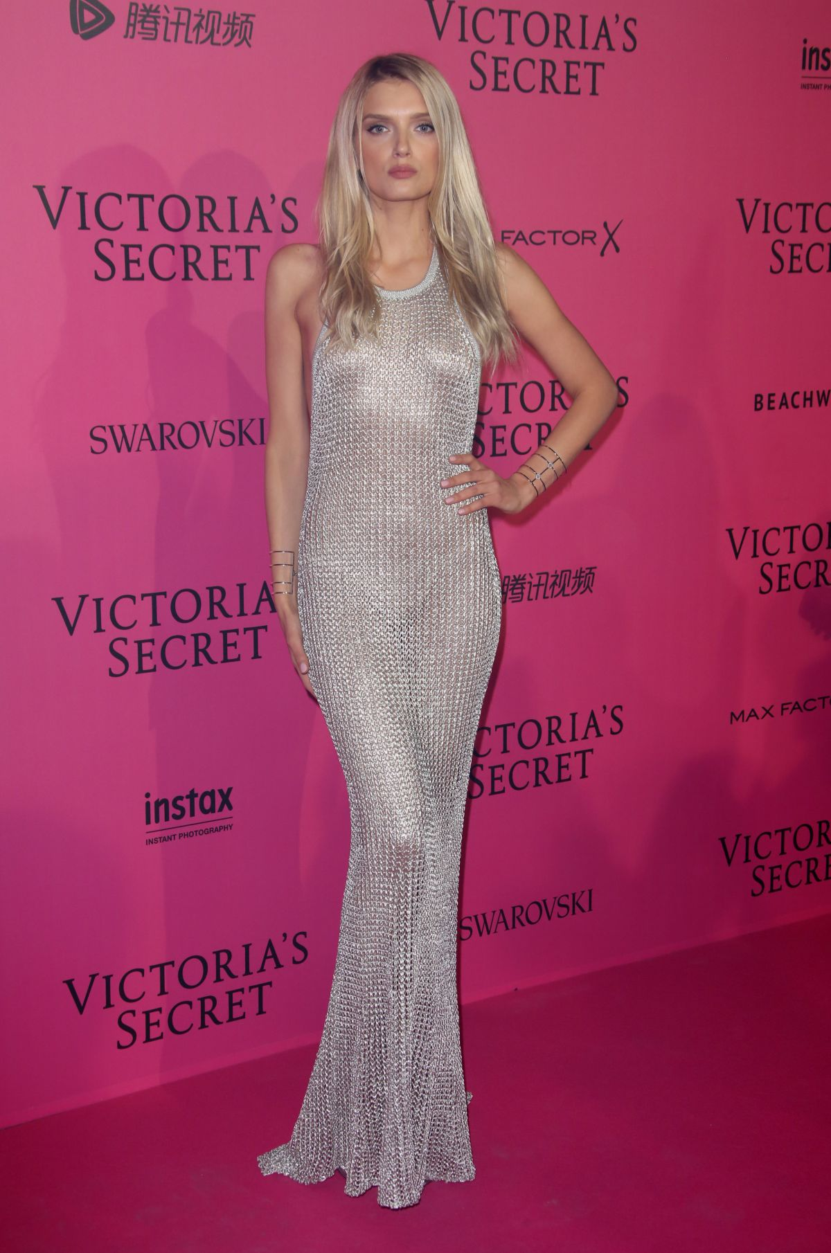 LILY DONALDSON at Victoria's Secret Fashion Show After Party in Paris 11/30/2016
