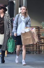 LILY-ROSE DEPP Out for Shopping in West Hollywood 12/15/2016