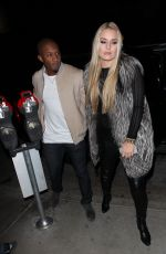 LINDSEY VONN and Kenan SMith at Catch LA in West Hollywood 12/17/2016