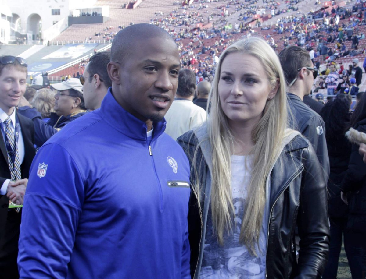 LINDSEY VONN and Kenan Smith San Francisco 49ers