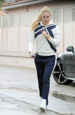 LINDSEY VONN Out and About in Beverly Hills 12/21/2016