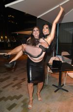 LISA APPLETON and CHRISSIE WUNNA Night Out in Manchester 12/19/2016