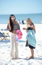 LISA OPIE in Bikini at a Beach in Miami 12/19/2016