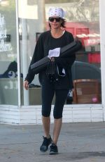 LISA RINNA Leaves a Yoga Class in Studio City 12/20/2016