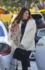 LISA VANDERPUMP Out and About in New York 12/24/2016
