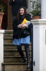 LIV TYLER Out and About in London 12/21/2016
