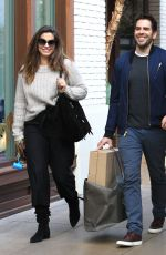 LORENZA IZZO Out for Shopping in Los Angeles 12/13/2016