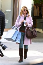 LORI LOUGHLIN Out for Christmas Shopping in Beverly Hills 12/16/2016