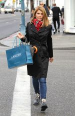 LORI LOUGHLIN Out Shopping in Beverly Hills 12/22/2016