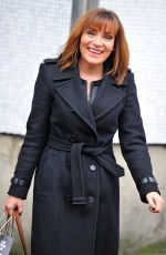 LORRAINE KELLY Leaves ITV Studios in London 12/13/2016