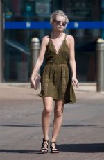 LOTTIE MOSS Out and About in Bridgetown 12/13/2016