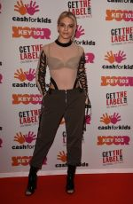 LOUISA JOHNSON at Key 103 Christmas Live in Manchester 12/09/2016