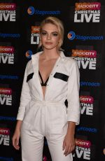 LOUISA JOHNSON at Radio City Christmas Live at Echo Arena in Liverpool 12/17/2016