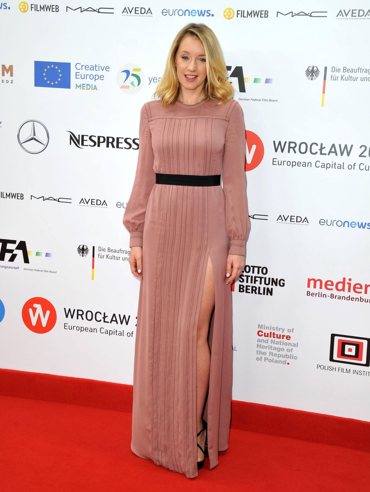 LUDIVINE SAGNIER at 29th European Film Awards in Wroclaw 12/10/2016