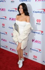 MADISON BEER at Z100's Iheartradio Jingle Ball 2016 in New York 12/09/2016